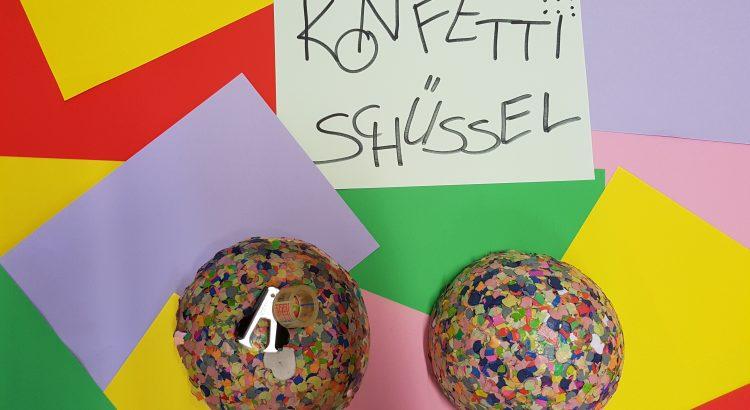 Konfetti-Schüssel